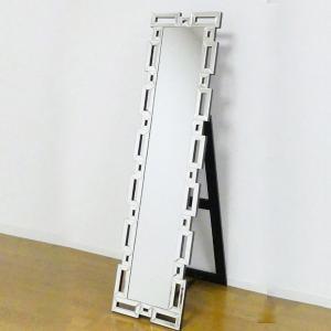 姿見 スタンディングミラー 角 ( 鏡 全身鏡 ミラー )|interior-palette