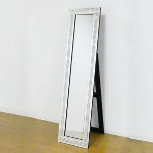 姿見 スタンディングミラー 2ライン ( 鏡 全身鏡 ミラー )|interior-palette