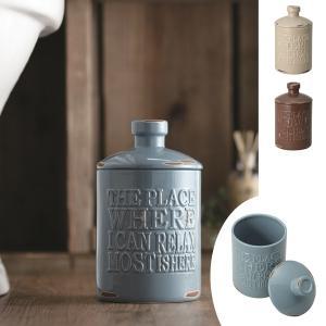 トイレポット 陶器 vintage ( サニタリーポット ダ...