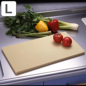 まな板 抗菌エラストマーシンクまな板 プラスチック L 日本製 ( 抗菌まな板 抗菌加工 プラスチック製 )の画像