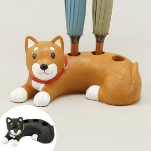 傘立て トリプル 柴犬 ( 傘たて 傘立 アンブレラスタンド )|interior-palette