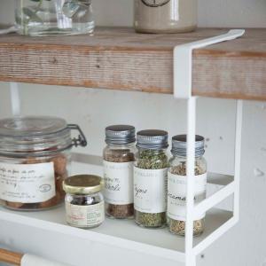 調味料ラック 戸棚下調味料ラック ホワイト トスカ tosca ( キッチン収納 戸棚下収納 ペーパーホルダー )|interior-palette|05