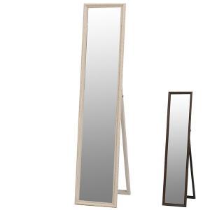 鏡 ミラー スタンドミラー アンティーク調フレーム 33x150cm ( 全身鏡 姿見 スタンドミラー )|interior-palette