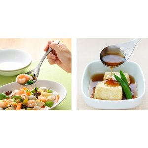 お玉 水切りスプーン leye レイエ ステンレス製 日本製 ( 穴あきレードル 食洗機対応 キッチンツール )|interior-palette|05