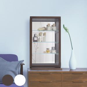 コレクションケース ガラスケース スカーラT 幅35cm ( キャビネット コレクション ラック ガラス 収納 シンプル 棚 完成品 )|interior-palette