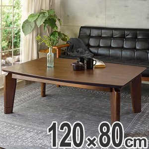 こたつ リビングコタツ レグルス120 ( 家具調こたつ 座卓 炬燵 )|interior-palette