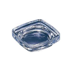 灰皿 ガラス製 角型 卓上 シンプル 吸い殻入れ ( 卓上灰皿 アッシュトレイ ガラス灰皿 )|interior-palette