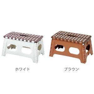 【週末限定クーポン】踏み台 セノビー どっしり君 高さ22cm ( おりたたみ 脚立 セノ・ビー )|interior-palette|02