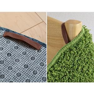 【週末限定クーポン】インテリアマット SIMON 丸型 60×60cm ( アクセントマット マット 正円 )|interior-palette|09