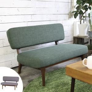 ソファ 2人掛け 天然木フレーム ココア 幅100cm ( ソファー 二人掛け 北欧 ダイニング リビング 木製 コンパクト ワンルーム シンプル 一人暮らし ) interior-palette