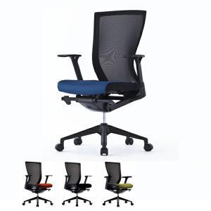 オフィスチェア 肘付 メッシュバック ( オフィスチェアー メッシュ ハイバック  デスク用チェア 腰痛 オフィス 椅子 チェア 椅子 イス )|interior-palette