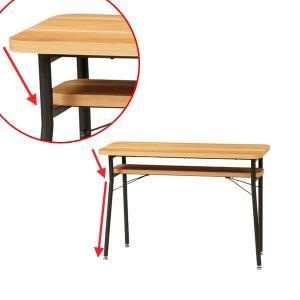 ダイニング カウンターテーブル スチールフレーム ケティル 幅100cm ( テーブル カウンター ハイテーブル アイアン バーテーブル 木製 おしゃれ )|interior-palette|03
