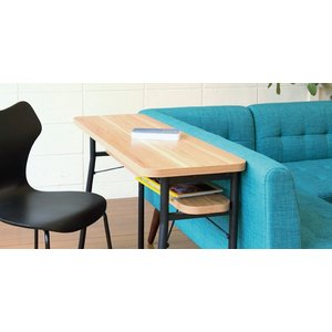 ダイニング カウンターテーブル スチールフレーム ケティル 幅100cm ( テーブル カウンター ハイテーブル アイアン バーテーブル 木製 おしゃれ )|interior-palette|04