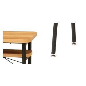 ダイニング カウンターテーブル スチールフレーム ケティル 幅100cm ( テーブル カウンター ハイテーブル アイアン バーテーブル 木製 おしゃれ )|interior-palette|05