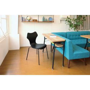 ダイニング カウンターテーブル スチールフレーム ケティル 幅100cm ( テーブル カウンター ハイテーブル アイアン バーテーブル 木製 おしゃれ )|interior-palette|06