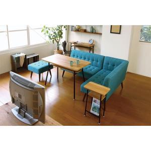 ダイニング カウンターテーブル スチールフレーム ケティル 幅100cm ( テーブル カウンター ハイテーブル アイアン バーテーブル 木製 おしゃれ )|interior-palette|07