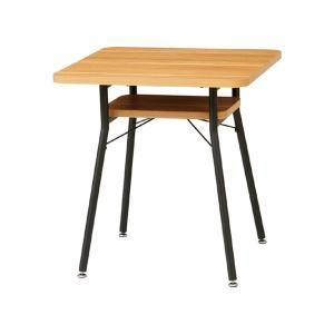 ダイニングテーブル スチールフレーム ケティル 幅65cm ( テーブル ダイニング 2人 2人用 コンパクト おしゃれ 木製 アイアン )|interior-palette