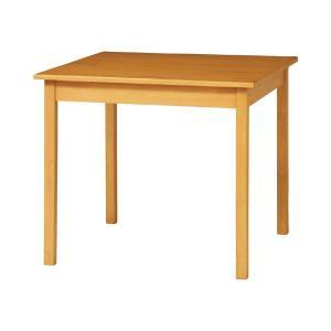 ダイニングテーブル 天然木 カントリー調 サンデイ 80cm角型 ( ダイニング 木製 テーブル 幅80cm 二人用 二人 北欧 パイン材 パイン ナチュラル 無垢 )|interior-palette