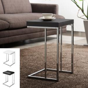 サイドテーブル ソファーサイド テーブル temorta 幅35cm ( テーブル リビング ホワイト ブラック 木製 シンプル ソファサイド )|interior-palette