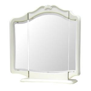 三面鏡 置き型 ロココ調 ロマンチック リモージュ ( 鏡 卓上 大きい ミラー 卓上ミラー ドレッサー 大型 メイク お化粧 化粧 姫系 かわいい )|interior-palette