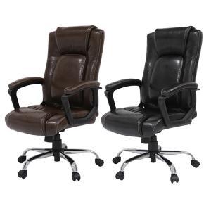 オフィスチェア ランバーサポート ロッキング付 レザー調 Spine ( チェアー 椅子 エグゼクティブチェア シートクッション 腰痛 オフィス )|interior-palette
