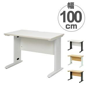 (法人限定) オフィスデスク パソコンデスク スチール脚 Assort 幅100cm ( デスク パソコン PCデスク PC オフィス シンプル ) interior-palette