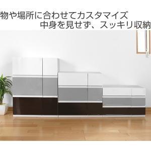 収納ケース 幅18×奥行35×高さ12cm コレクトケース Sスリム 1段 squ+ ( 収納 収納ボックス 引き出し )|interior-palette|02