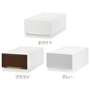 収納ケース 幅18×奥行35×高さ12cm コレクトケース Sスリム 1段 squ+ ( 収納 収納ボックス 引き出し )|interior-palette|03