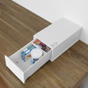 収納ケース 幅18×奥行35×高さ12cm コレクトケース Sスリム 1段 squ+ ( 収納 収納ボックス 引き出し )|interior-palette|05