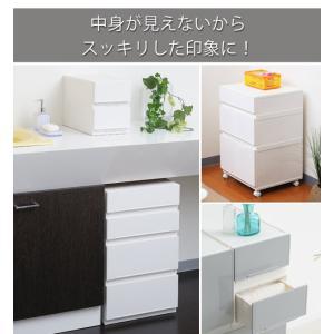 収納ケース 幅18×奥行35×高さ12cm コレクトケース Sスリム 1段 squ+ ( 収納 収納ボックス 引き出し )|interior-palette|06