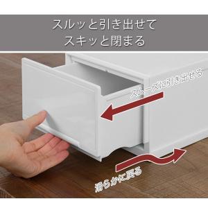 収納ケース 幅18×奥行35×高さ12cm コレクトケース Sスリム 1段 squ+ ( 収納 収納ボックス 引き出し )|interior-palette|07