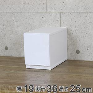 収納ケース 幅18×奥行35×高さ25cm コレクトケース Lスリム 1段 squ+ ( 収納 収納ボックス 引き出し )の写真