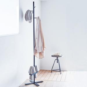 ハンガーラック 美style エントランスポールハンガー ( ポールハンガー コートハンガー スリッパラック )|interior-palette