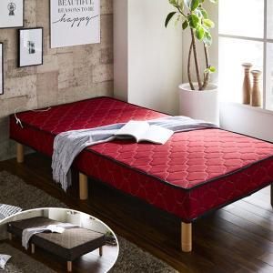 シングルベッド 脚付きマットレス ウォーカー ( ベッド シングル 脚付マットレス )|interior-palette