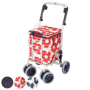 ショッピングカート ワイヤーカート バッグ付き アルミ製 ブレーキ付き 高さ調節可能 ( カート 買い物カート 折りたたみ コンパクト ) interior-palette