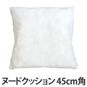 【今だけポイント5倍】ヌードクッション 圧縮タイプ 45×45cm ( クッション 中身 45 )|interior-palette