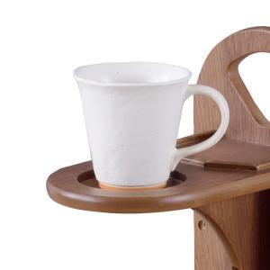 サイドテーブル マガジンラック付 天然木 コーヒーテーブル トムテ 幅45cm ( 完成品 テーブル ウォールナット ラック 北欧 木製 ) interior-palette 04
