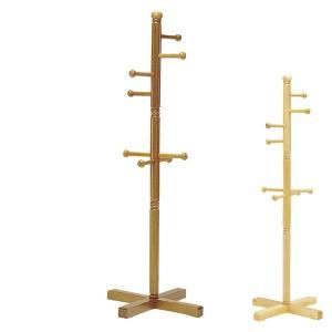 ジュニアハンガー 天然木 ポールハンガー 太タイプ 高さ137cm ( ハンガーラック 子供用 キッズ 洋服掛け )|interior-palette