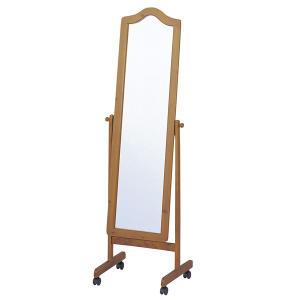 スタンドミラー 姿見 木製 約幅50cm ( ミラー 全身鏡 姿見 )|interior-palette