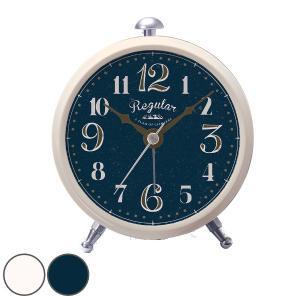 時計 置き時計 アラーム時計 ルナ ( 置時計 目覚まし時計 目覚まし ) interior-palette