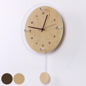 掛け時計 電波時計 アンティール ( アナログ 電波 時計 振り子時計 壁掛け時計 ) interior-palette