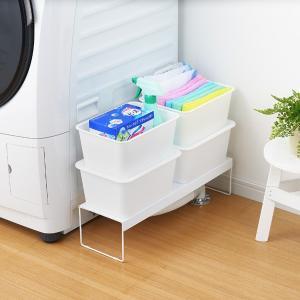 【週末限定クーポン】排水口カバー 洗濯機排水口カバー&ラック 幅15cm 隙間収納 日本製 ( ランドリー収納 目隠し 洗濯機横 )|interior-palette|04