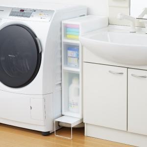 【週末限定クーポン】排水口カバー 洗濯機排水口カバー&ラック 幅15cm 隙間収納 日本製 ( ランドリー収納 目隠し 洗濯機横 )|interior-palette|05