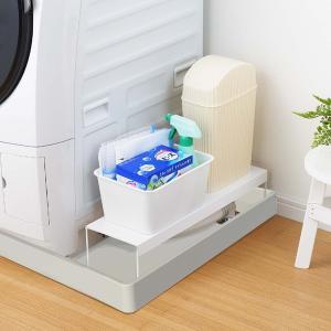 【週末限定クーポン】排水口カバー 洗濯機排水口カバー&ラック 幅15cm 隙間収納 日本製 ( ランドリー収納 目隠し 洗濯機横 )|interior-palette|07