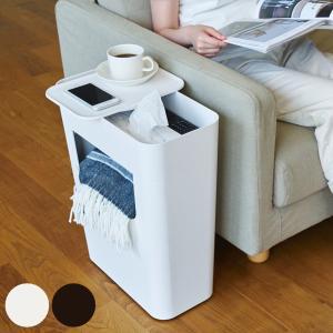 サイドテーブル 収納 サイドワゴン キャスター付 ENOTS 幅40cm ( テーブル 白 ホワイト 日本製 収納家具 )|interior-palette