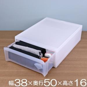 収納ケース スタックシステムケース ワイド S 約 幅38×奥行50×高さ16cm ( クローゼット...