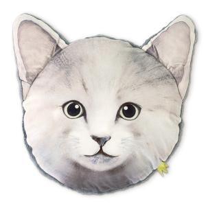 【今だけポイント5倍】クッション キスミーアニマル KISS ME ANIMAL CUSHION ネコ ( 動物 インテリア 丸 )|interior-palette