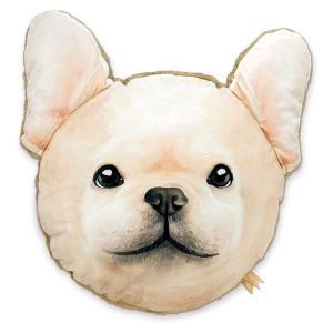【今だけポイント5倍】クッション キスミーアニマル KISS ME ANIMAL CUSHION 犬 ( 動物 インテリア 丸 )|interior-palette