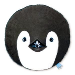 【今だけポイント5倍】クッション キスミーアニマル KISS ME ANIMAL CUSHION ペンギン ( 動物 インテリア 丸 )|interior-palette