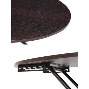 ■在庫限り・入荷なし■ リフティングテーブル オーバル型 高さ調節 幅95cm ( 机 テーブル ローテーブル センターテーブル ) interior-palette 03